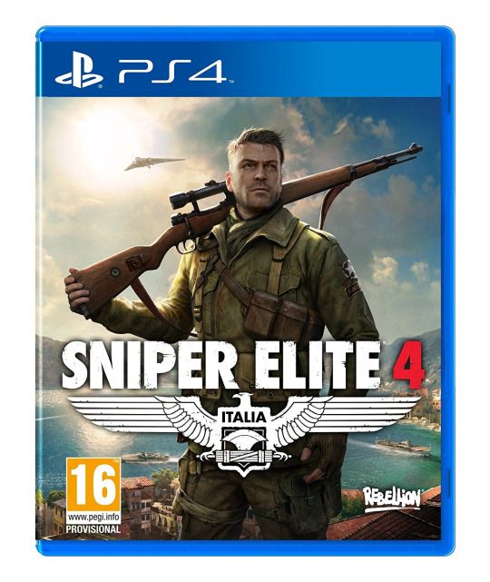My new PS4 game - Sniper Elite 4