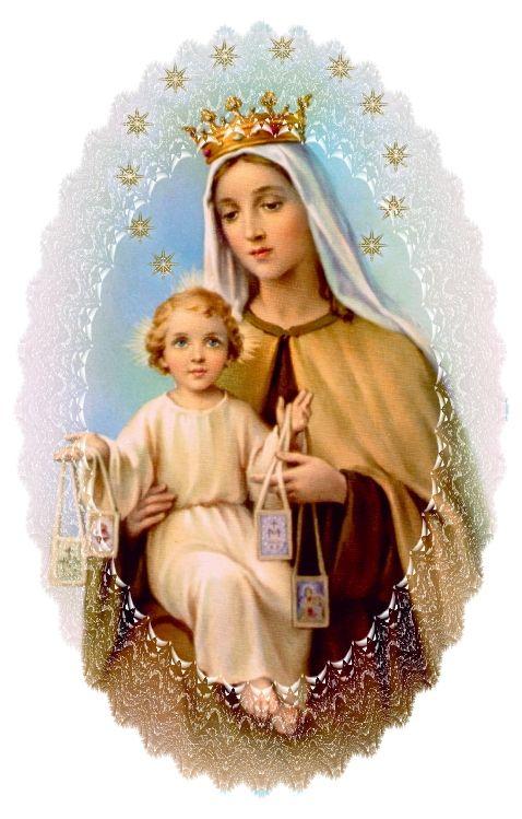 Lady of Mt. Carmel   OUR LADY OF MOUNT CARMEL