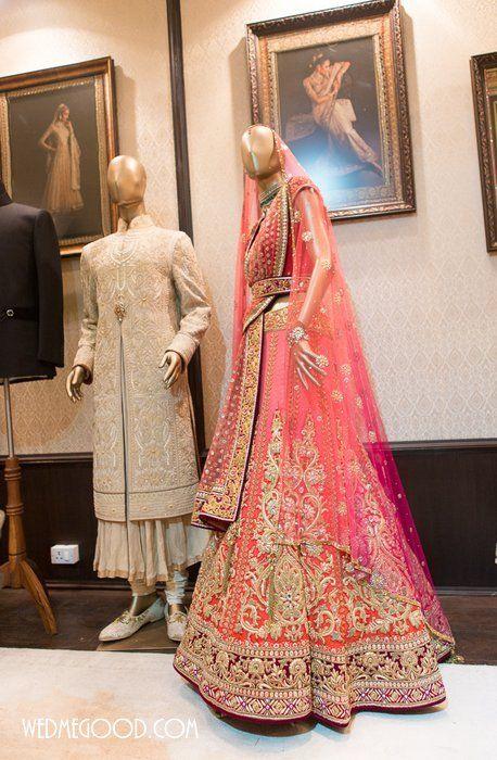Bridal Lehenga by Tarun Tahiliani #wedmegood