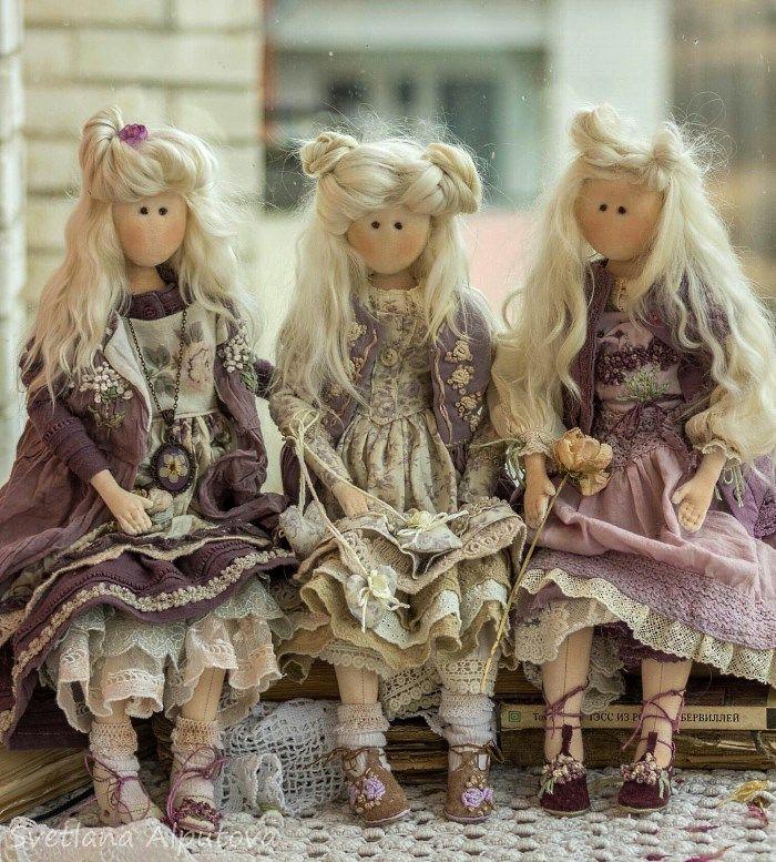 Куклы Светланы Алпутовой