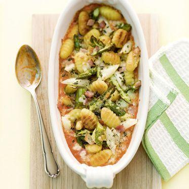 Spargel-Gnocchi-Gratin Rezept   Küchengötter