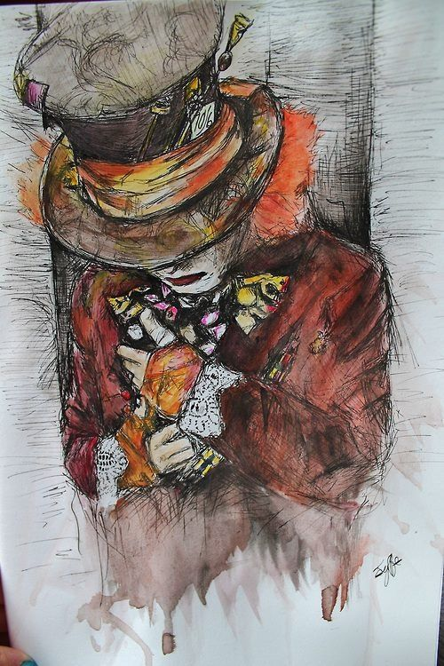 Mad Hatter. Watch once upon a time there mad hatter is amazing ;;