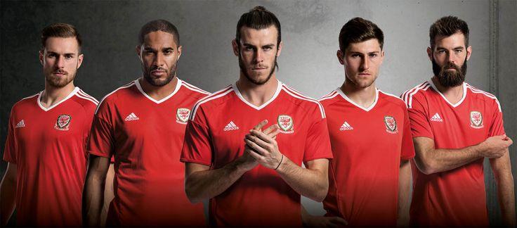 Wales Euro 2016 Home Kit - Adidas