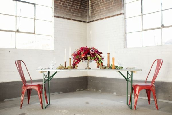 Modern Industrial Tabletop | photography by http://www.adonyejaja.com