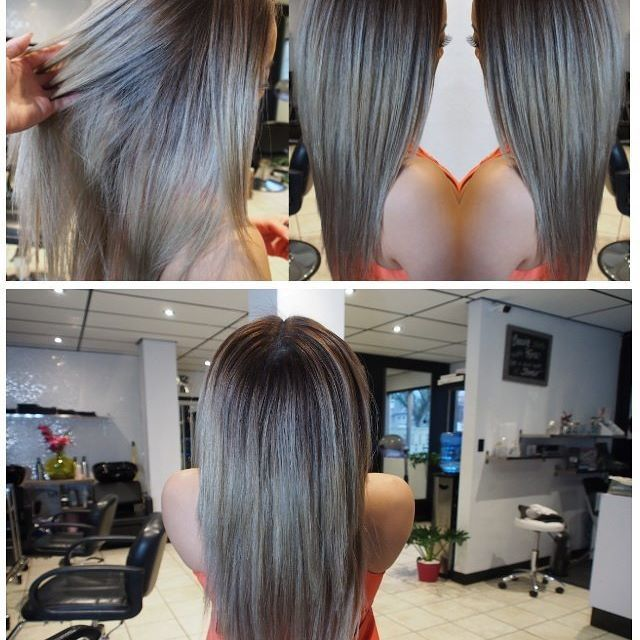 this blonde BLENDED OMBRE is yet another example of why #ombre is still so incredibly popular. snag our secrets for the style here: https://goo.gl/R6TpD8    #nvennhairbeautybar #blendedombre #blondeombre #blonde #stylists #salons #yychair #yeghair #hairhacks #bbloggers