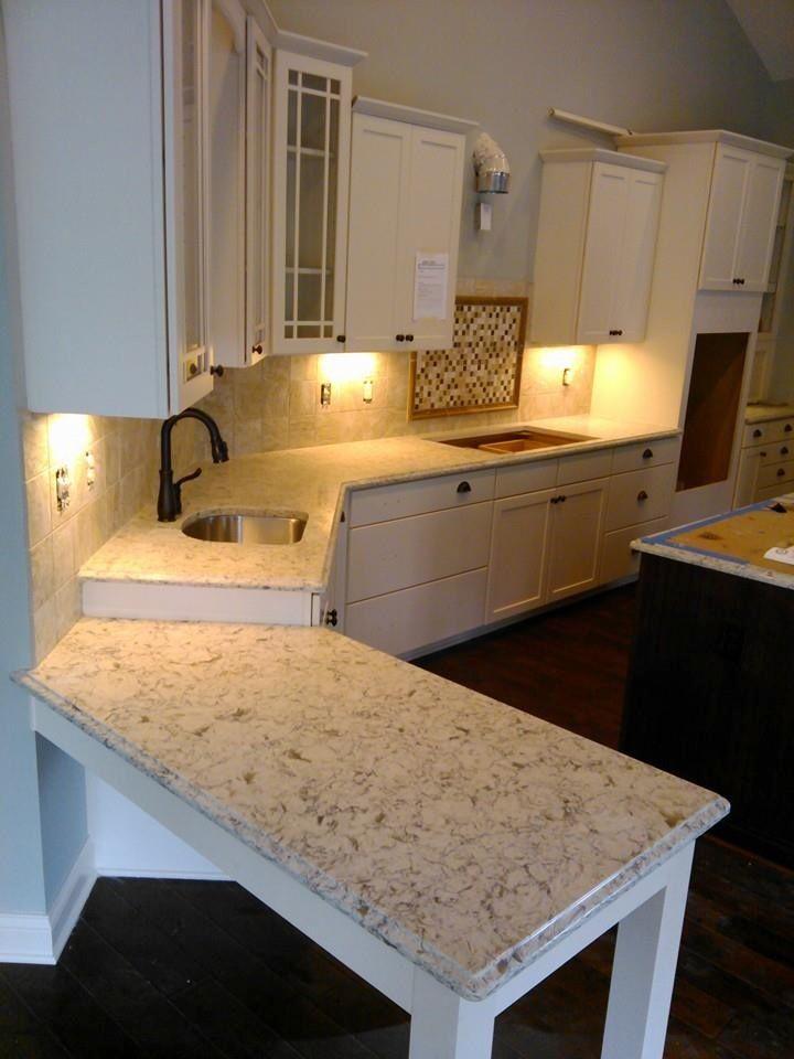Quartz Countertops Vicostone Bianco Romano Kitchen Redo