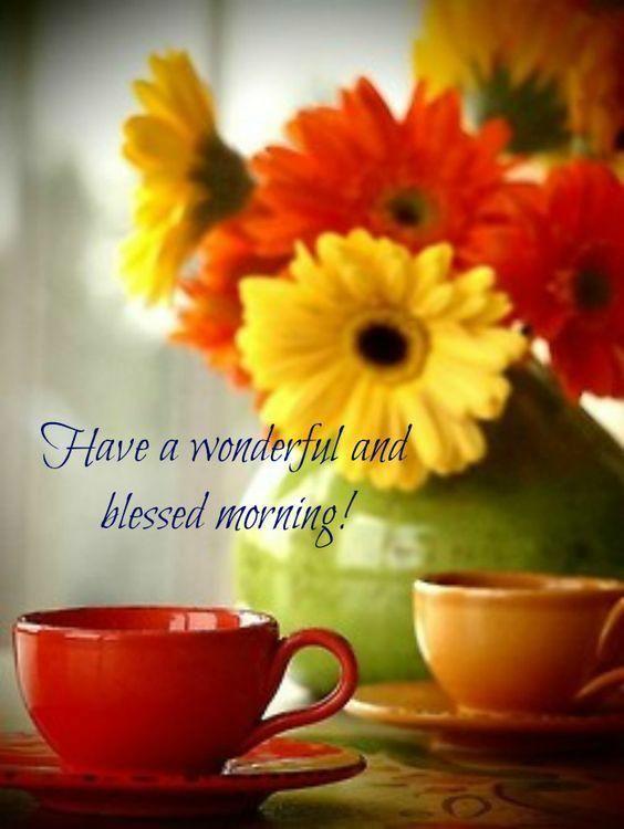 good morning love images  good morning cards vintage tea