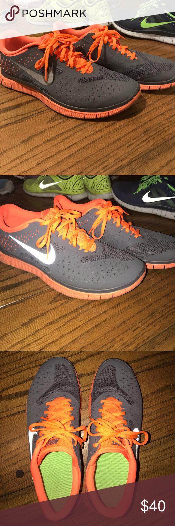 new arrival c3e61 2b21b ... Nike free run 4 V2 Nike free run 4.0 V2 orange and charcoal.