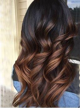 Ombre Couleur Cheveux Ondulé Weave/trame 1PC