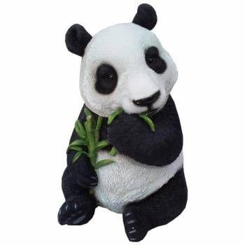 Vivid Arts Sitting Panda Garden Or Home Ornament | Terryu0027s Village |  Pinterest | Garden Ornaments, Panda And Ornament