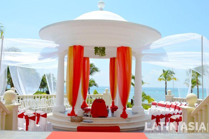 #mandap #indiandestinationweddings #cancun #rivieramaya @weddingcancun