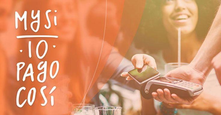Pagare in modo semplice e sicuro senza usare il portafoglio! Come?  Con l'app #MySI di @cartasi.  Provala subito! :-) #payment #app #easy #easylife