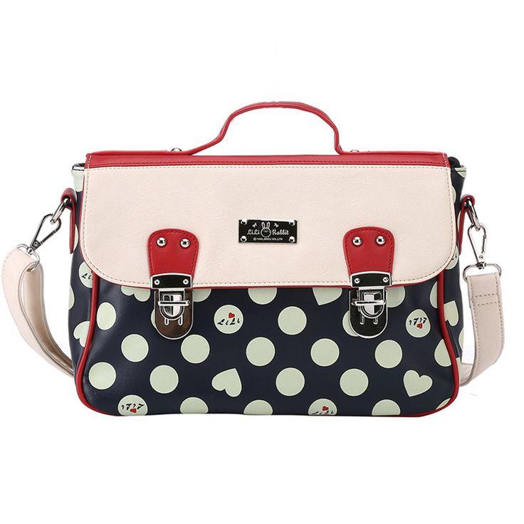 Aliexpress Lili Rabbit Fashion Brand Top Pu Leather Women Patchwork Handbag Famous