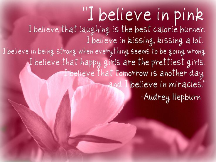 Quote for Girls and Breast Cancer Awareness. This fits a very sweet