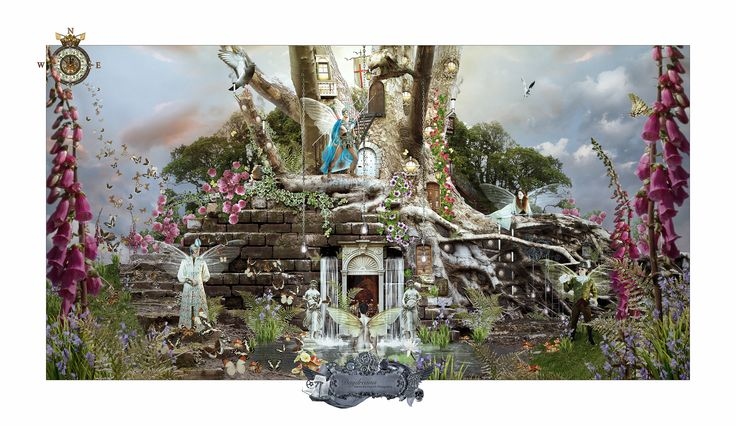 Daydreams No.3 - Initiation. New Fantasy series by Marius Els Fine Art Photography