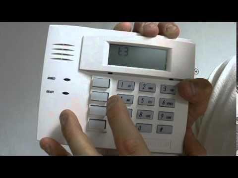 programming a wireless keypad into honeywell l7000 security system httpwww