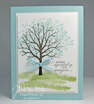guess outlet online clothing fashion outlet clothes Sheltering Tree Sympathy Card www JillsInk com