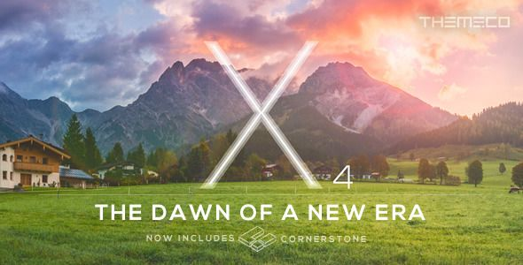 ThemeForest – X v4.5.2 – The Theme Nulled WordPress Theme