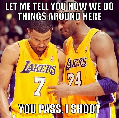 nba ref memes | Kobe Bryant Needs to Shoot The Ball Meme » NBA Memes