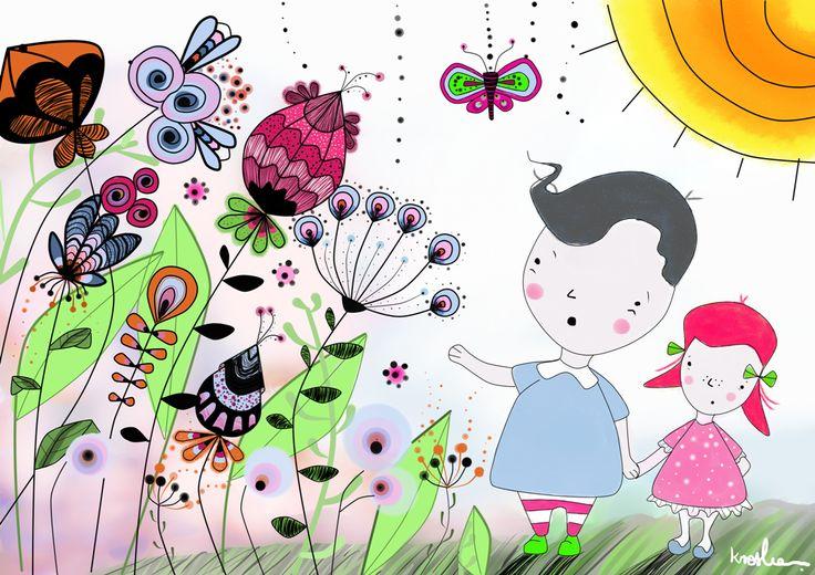 Ilustration for children