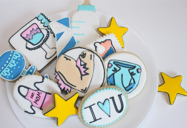 Sugar Bea's Blog: Father's Day Cookies {Mr. Mom}