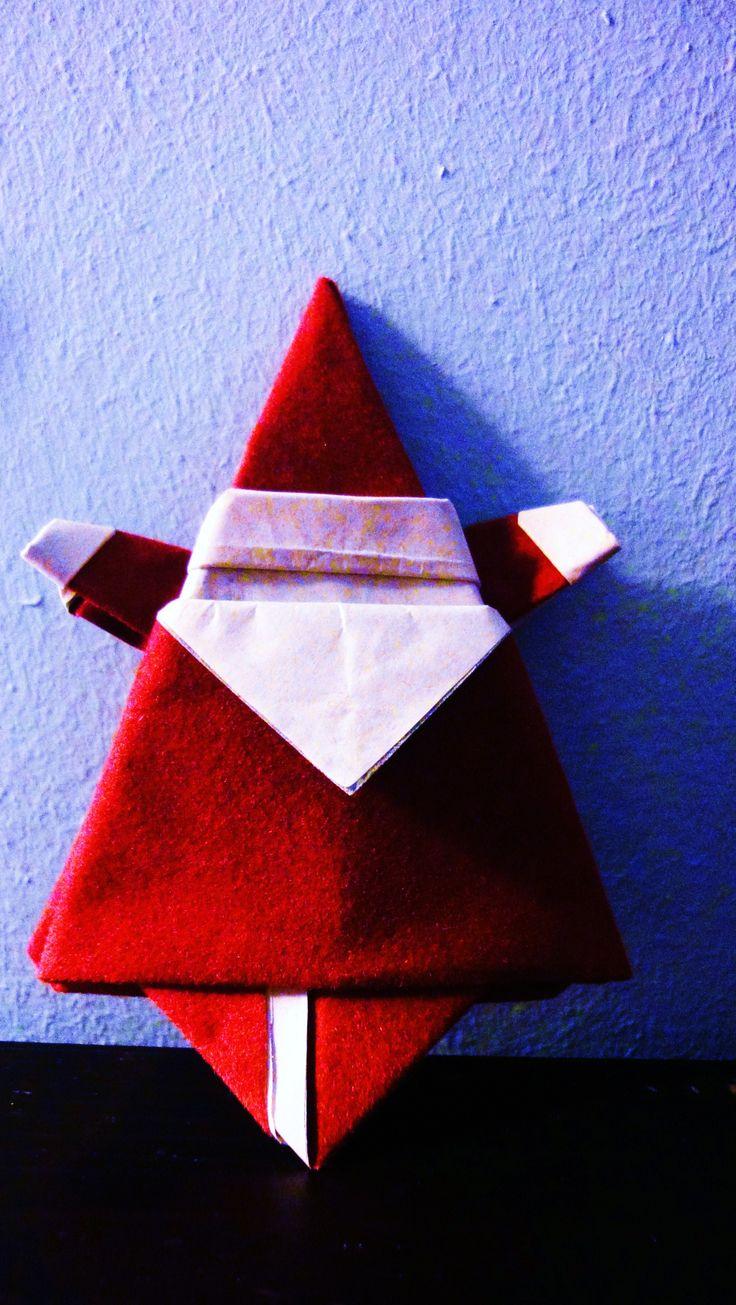 paper made Santa