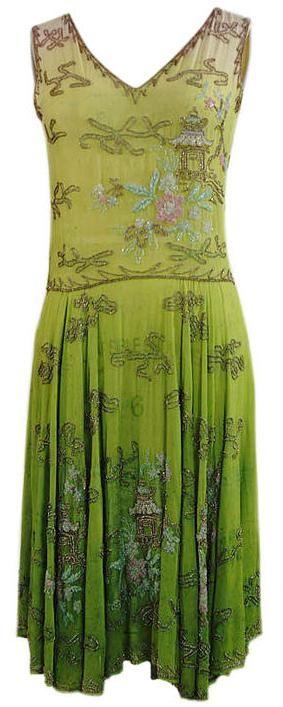Flapper Dress 1920s. @designerwallace