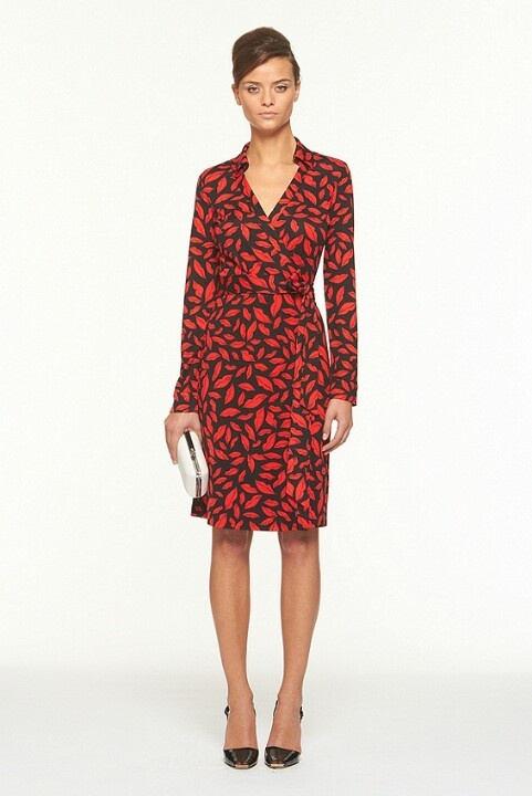 Dianne von Furstenberg wrap dress-- the BEST wrap dresses you will ever buy