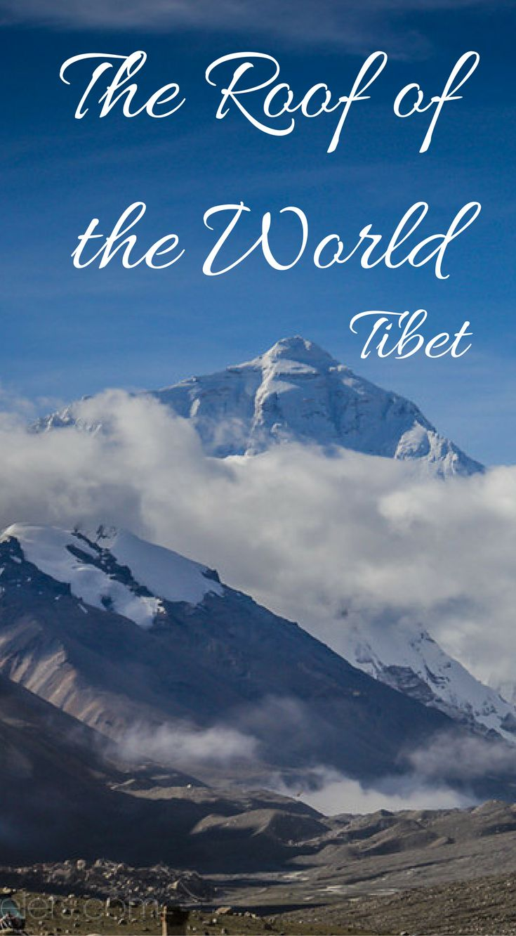 The roof of the world Tibet. How to Travel to Tibet – Everything You Need to Know. The Roof of the World is often thought of as a mysterious and inaccessible destination but there's no reason why you shouldn't be able to get to travel to Tibet if you do your research and plan far enough in advance. Click to read more at http://www.divergenttravelers.com/how-to-travel-to-tibet/