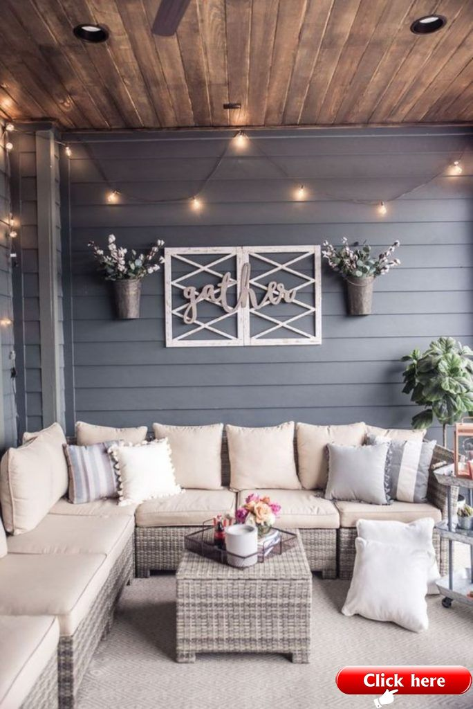 What Is Hot On Pinterest Outdoor Decor Edition 2019 Deck Ideas Terrace Decor Home New Homes
