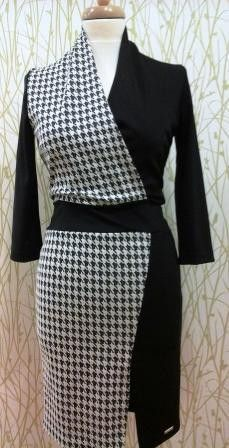 Houndstooth (Size S-XL)A Dress For A Less Formal Occasion Comfortable But Classy