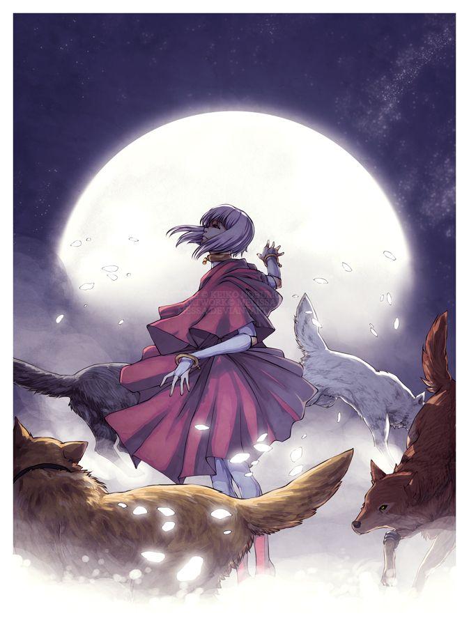 "cerebrobullet: "" Majestic Glowing Moon Petals by *messa """
