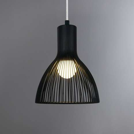Emition Black Pendant Light Fitting | Dunelm