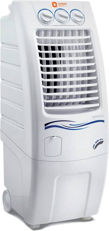 Buy Orient Electric Supercool CP3001H 30 Litres Air Cooler online at the lowest price. Compare price of Orient Electric Supercool CP3001H 30 Litres Air Cooler from major shopping sites to get the best deal.
