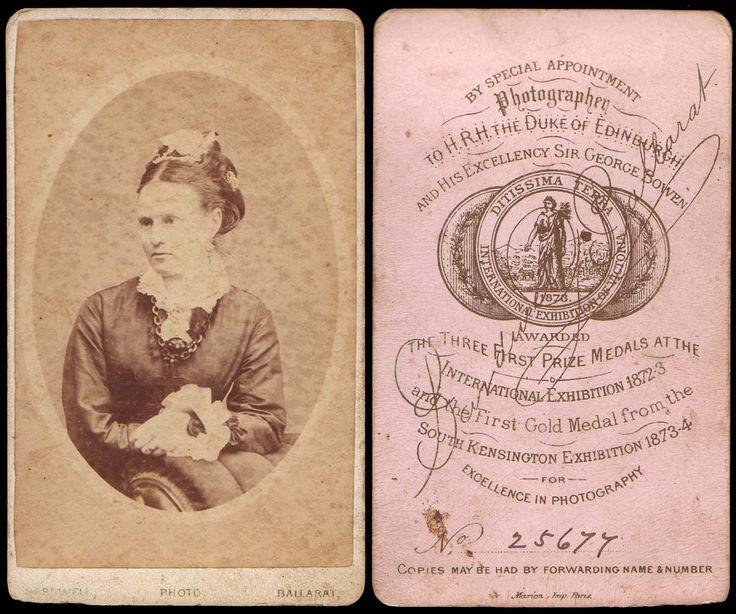 19th Century CDV Australia