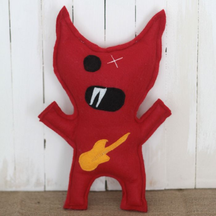 it's always autumn - itsalwaysautumn - STL: felt monsters to make with your kids {plus free mix-n-matchpattern}