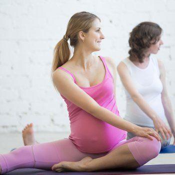 Practica estos ejercicios para aliviar las molestias del embarazo.