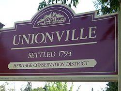 unionville markham | Unionville, Ontario - Wikipedia, the free encyclopedia