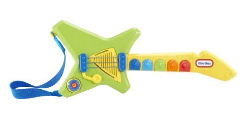 Little Tikes Pop Tunes Guitar by Little Tikes. $28.99. From the Manufacturer                Little Tikes PopTunes are the only musical toy instruments featuring popular contemporary tunes that both parents and kids can enjoy.                                    Product Description                Little Tikes Pop Tunes GuitarLittle Tikes Pop Tunes are popular Instruments combined with Pop inspired songs that both parents and kids can enjoy and afford.Product Measures: 1.8