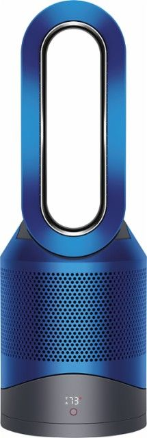 Dyson - Pure Hot + Cool Link Air Purifier - Blue - Front_Zoom