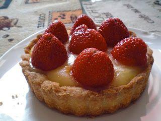 Erdbeer-Vanille-Tartlette