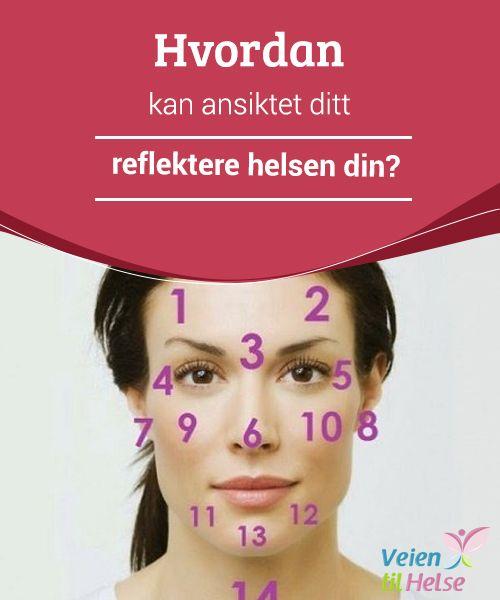 Hvordan kan ansiktet ditt reflektere helsen din?  Når vi får #kviser eller ujevnheter i huden, kan #dette være et tegn på at våre indre #organer ikke #fungerer helt som de skal.