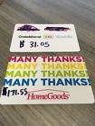 $202.60 GIFT CARD VALUE TO TJ MAXX MARSHALL'S HOMEGOODS and CRATE & BARREL!!!