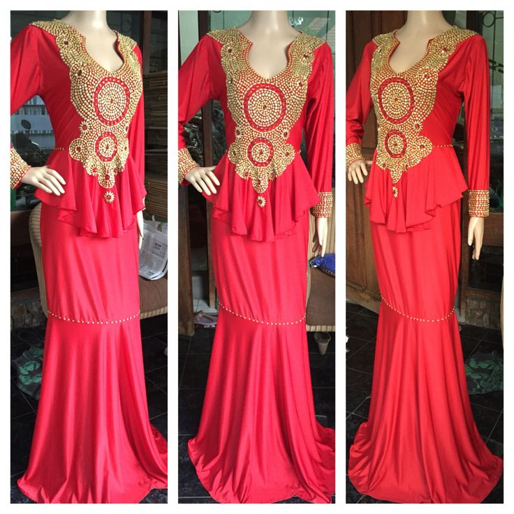 #dress #unique #peplumdress #fashion #glamour #stunning #beaded #wardakaftan #kaftanwarda #galadinner #mode #red #blackisbeauty #nice #spandek #kaftanindonesia #weddingdress #wedding #elegant #fashioninspiration #ootd #ootn #ootdmagazine #blackwomen #pretty #naijawedding #nigeria #love