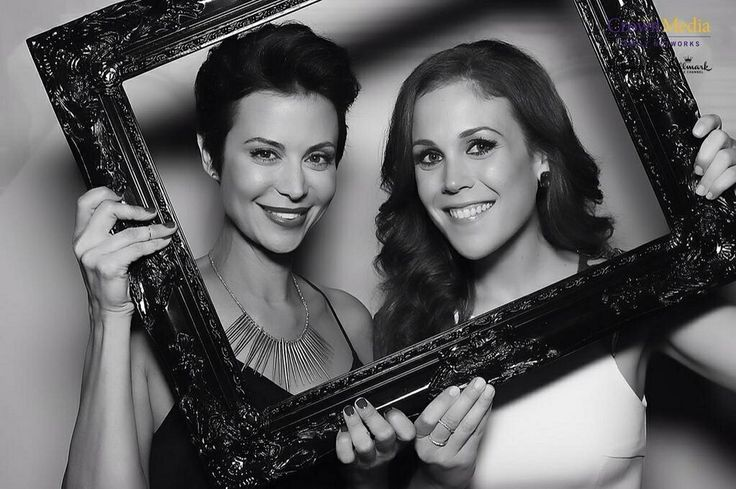 Love these two ladies!!  Catherine Bell and Erin Krakow