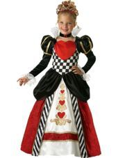 Queen of Hearts Costume for Girls-Party City #partycity #halloween