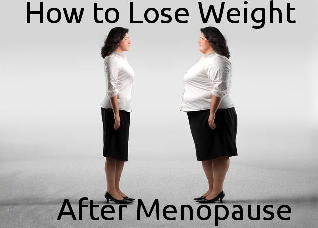 rapid weight loss during menopause