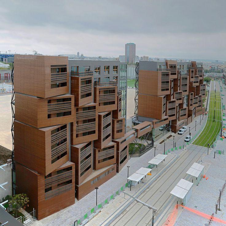 Basket Apartments by OFIS architects ➕ Paris, France