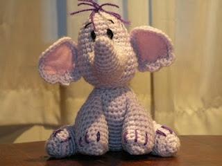 Crochet HeffalumpHeffalump Pattern, Crochet Pattern Disney, Knits Crochet, Crochet Animals, Elephant Blankets Crochet, Crafty Crafts, Crochet Heffalump, Diy Projects, Crochet Knits