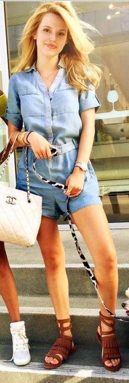 Bella Throne in Shoes – Freda Salvador  Romper = AllSaints  Purse – Chanel